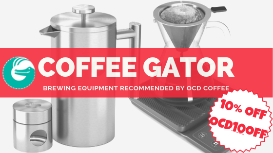 Coffee Gator Banner